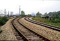 116L30300484 Vorortelinie, Bereich Bahnhof Heiligenstadt, Blick Richtung Gersthof, links Stadtbahntrasse Gürtellinie.jpg