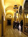 117 Palau del Lloctinent, galeria superior del pati, durant el festival Llum BCN.JPG