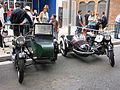 121 Fira Modernista de Terrassa, mostra de motos d'època a la Rambla.JPG