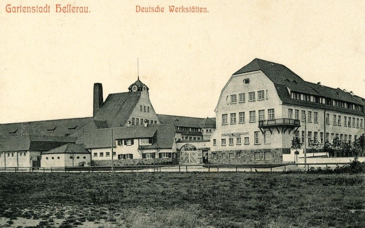 Deutsche Werkstätten Hellerau Wikipedia