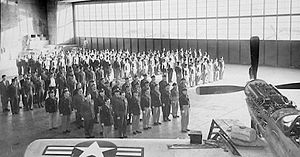71st Fighter Wing - 124th Fighter Squadron, Iowa Air National Guard formation, Des Moines Municipal Airport, 1953