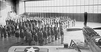 124th Fighter Squadron - 124th Fighter Squadron formation 1940s