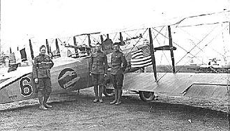 12th Aero Squadron - 12th Aero Squadron – Salmson 2A2, probably at Ourches Airdrome, France