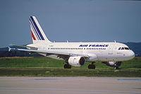 F-GRHV - A319 - Air France