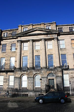 Andrew Jameson, Lord Ardwall - Lord Ardwall's impressive Edinburgh townhouse at 14 Moray Place