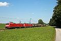 152 154 DB mit Schwesterlok nahe Holzkirchen - Oberbayern.JPG