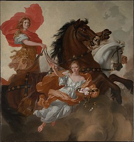 1671 Gérard de Lairesse - Apollo and Aurora.jpg