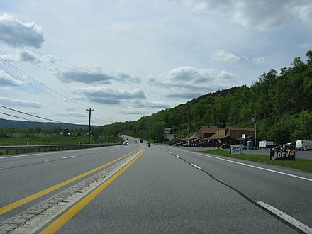Westbound US 30 in West Providence Township, Bedford County 1679 - W Providence Twp - US30 WB.JPG