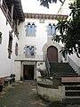 167 L'Enrajolada, Casa Museu Santacana (Martorell), façana que dona al jardí.jpg