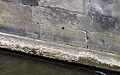1704 1852 Jahreszahlen mit Signatur an der Uferbefestigung der Leine an der (heutigen) Rademachertreppe bei der Leintorbrücke in Hannover.jpg