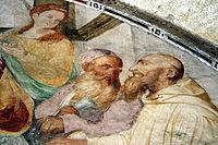 1728 - Milano - Abbazia di Chiaravalle - Gaudenzio Ferrari, Madonna onorata da cistercensi (dett.) - Foto Giovanni Dall'Orto, 31-Oct-2009.jpg