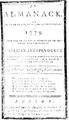 1779 Almanack Boston Draper Folsom.png