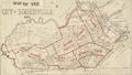 1884 map wards Somerville Massachusetts USA BPL12900.png