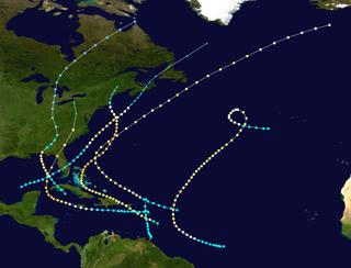 1896 Atlantic hurricane season hurricane season in the Atlantic Ocean