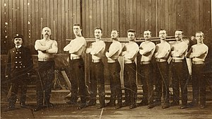 1905 World Artistic Gymnastics Championships - Dutch gymnastics team