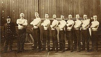 1905 World Artistic Gymnastics Championships - Dutch gymnastics team