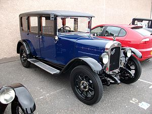 Austin 16 - Sixteen Light Six Burnham saloon 1929
