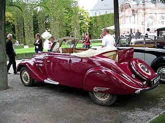 Peugeot 302 - Peugeot 302 cabriolet