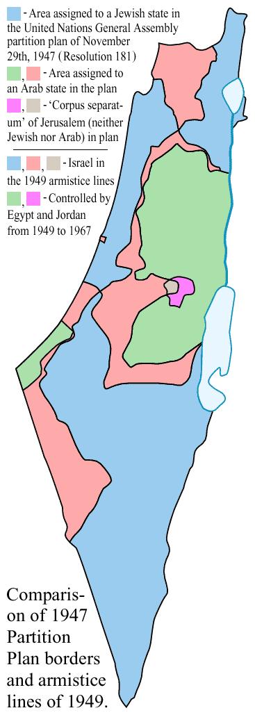 1947-UN-Partition-Plan-1949-Armistice-Comparison