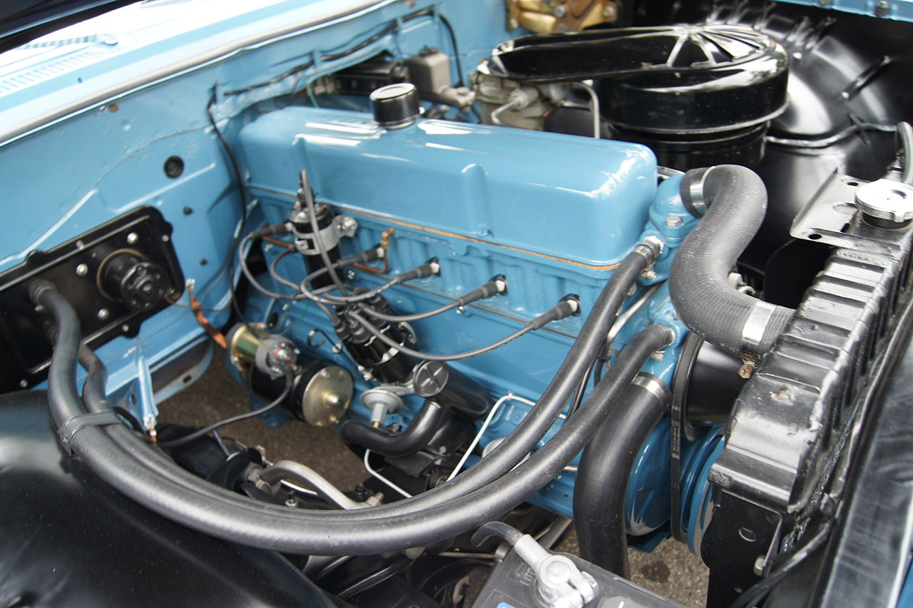 Px Chevrolet Biscayne C Ci Blue Flame Inline Six on Ford Engine Casting Numbers