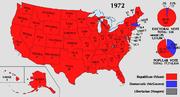 1972 Electoral Map