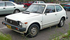 English: 1978–1979 Honda Civic 3-door hatchbac...