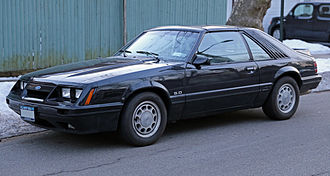 Ford Mustang (third generation) - 1986 Ford Mustang GT 5.0 T-top