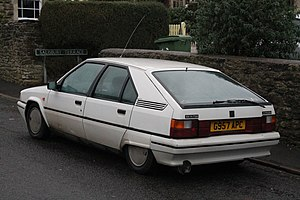 Citroën BX - Citroën BX 14RE TGE sedan (UK)