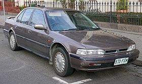 1991 Honda Accord (CB7) EXi sedan (2015-07-16) 01.jpg