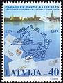 19991125 40sant Latvia Postage Stamp.jpg