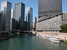 2003-08-23 View from Michigan Ave bridge in Chicago.jpg
