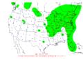 2007-10-27 24-hr Precipitation Map NOAA.png