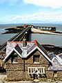 2007 at Birnbeck Pier - toll house.jpg