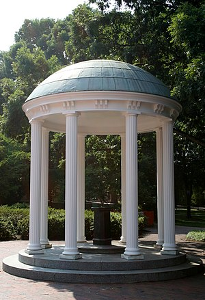 Old Well at the University of North Carolina a...