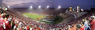 2008 Ohio State Buckeyes football team - Ohio State at USC