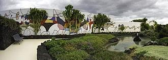 César Manrique - Mosaic by César Manrique