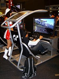 2008TaipeiGameShow Day3 SCET GT5 GamingArea.jpg