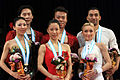 2009-2010 GPF Pairs Podium.jpg
