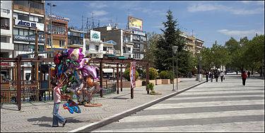 20090423 Komotini Greece central square.jpg