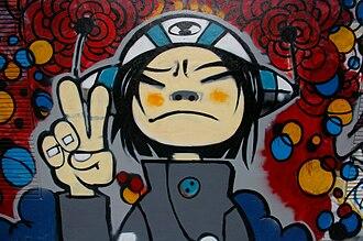 50 Moganshan Road - Image: 20091007 Graffiti Shanghai 7373