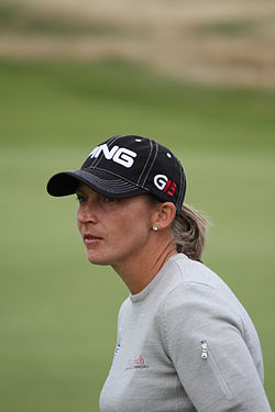 2009 Women's British Open – Angela Stanford (7).jpg