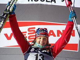 2011 Rogla FIS Cross-Country World Cup, Maiken Caspersen Falla.jpg