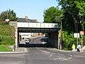 2011 at Dorchester West station - Damers Road bridge.jpg