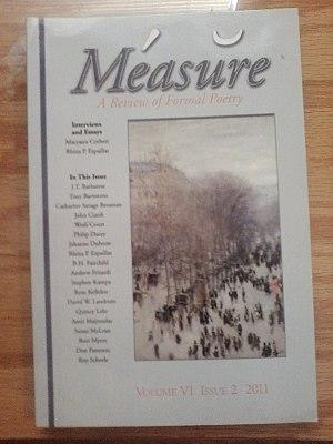 Measure (journal) - Volume VI Issue 2
