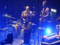 2012 - The Killers (Newcastle Metro Radio Arena) Tegan and Sara (8158817290).jpg