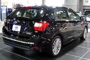 2012 Subaru Impreza hatch -- 2012 DC rear.JPG