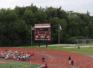 Benedictine University Stadium Scoreboard