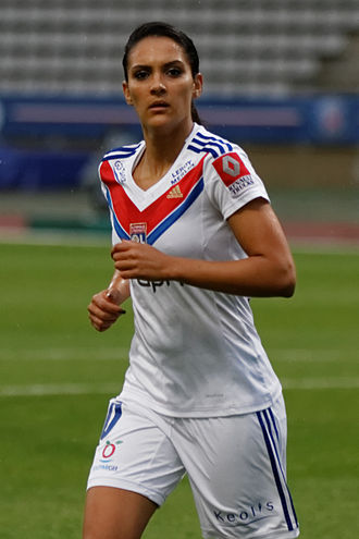 Louisa Cadamuro - Nécib with Lyon in 2013