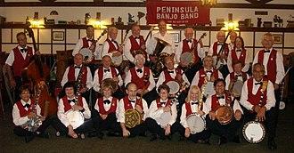 Peninsula Banjo Band - Image: 2013PBB Hofbrau crop
