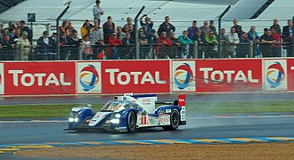 Toyota TS030 Hybrid - The No. 8 Toyota TS030 Hybrid that came second at Le Mans.